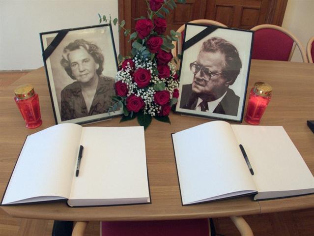 Photo of Održana komemoracija za akademika Dalibora Brozovića i prof. dr. sc. Nevenku Košutić-Brozović