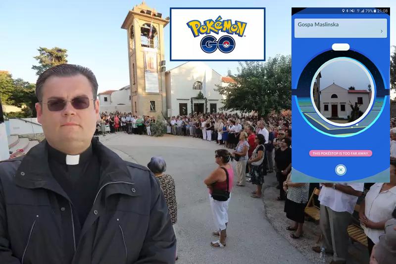 """Photo of POKEMONI U CRKVI NA BELAFUŽI! – Don Dario Tičić: """"Ako netko vidi Pokemona da viri iz kante za smeće, što da mu ja radim?"""""""