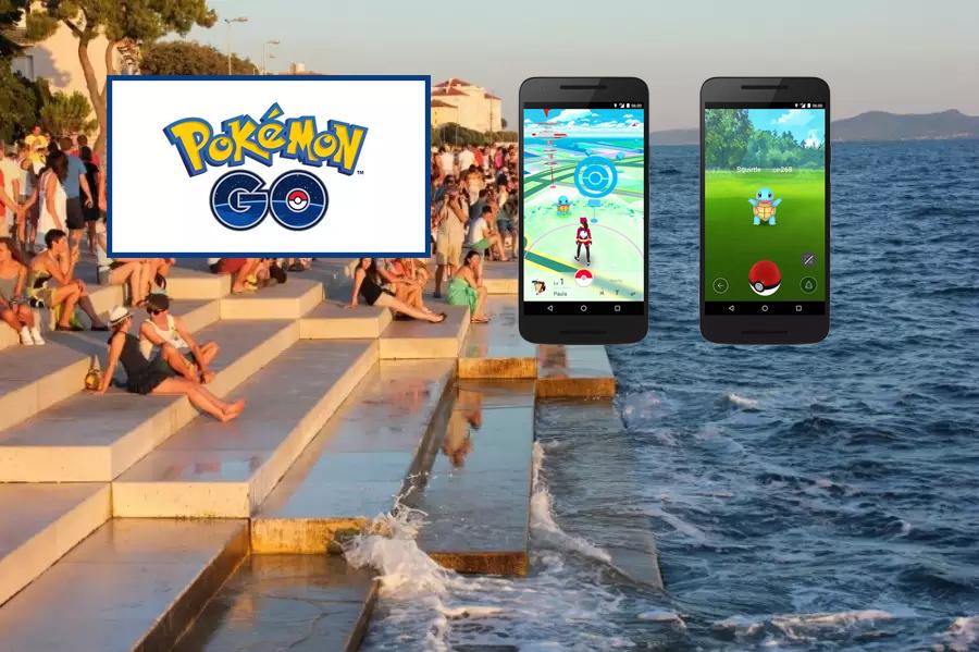 Photo of SPAŠAVALI GA LOKALNI KUPAČI – Hvatao Pokemone pa s ruksakom i elektroničkom opremom upao u more kod Morskih orgulja!
