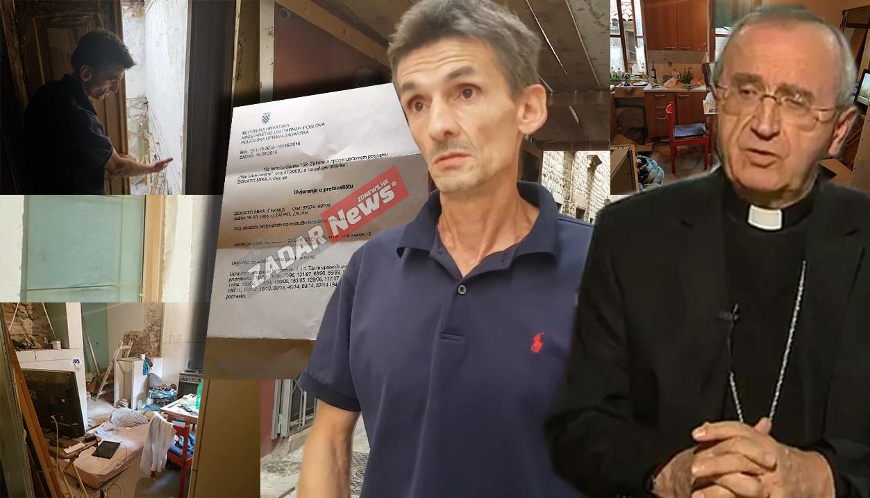Photo of VIDEO – Zadarska Nadbiskupija brani svećenika koji bahato prijeti obitelji Mika deložacijom