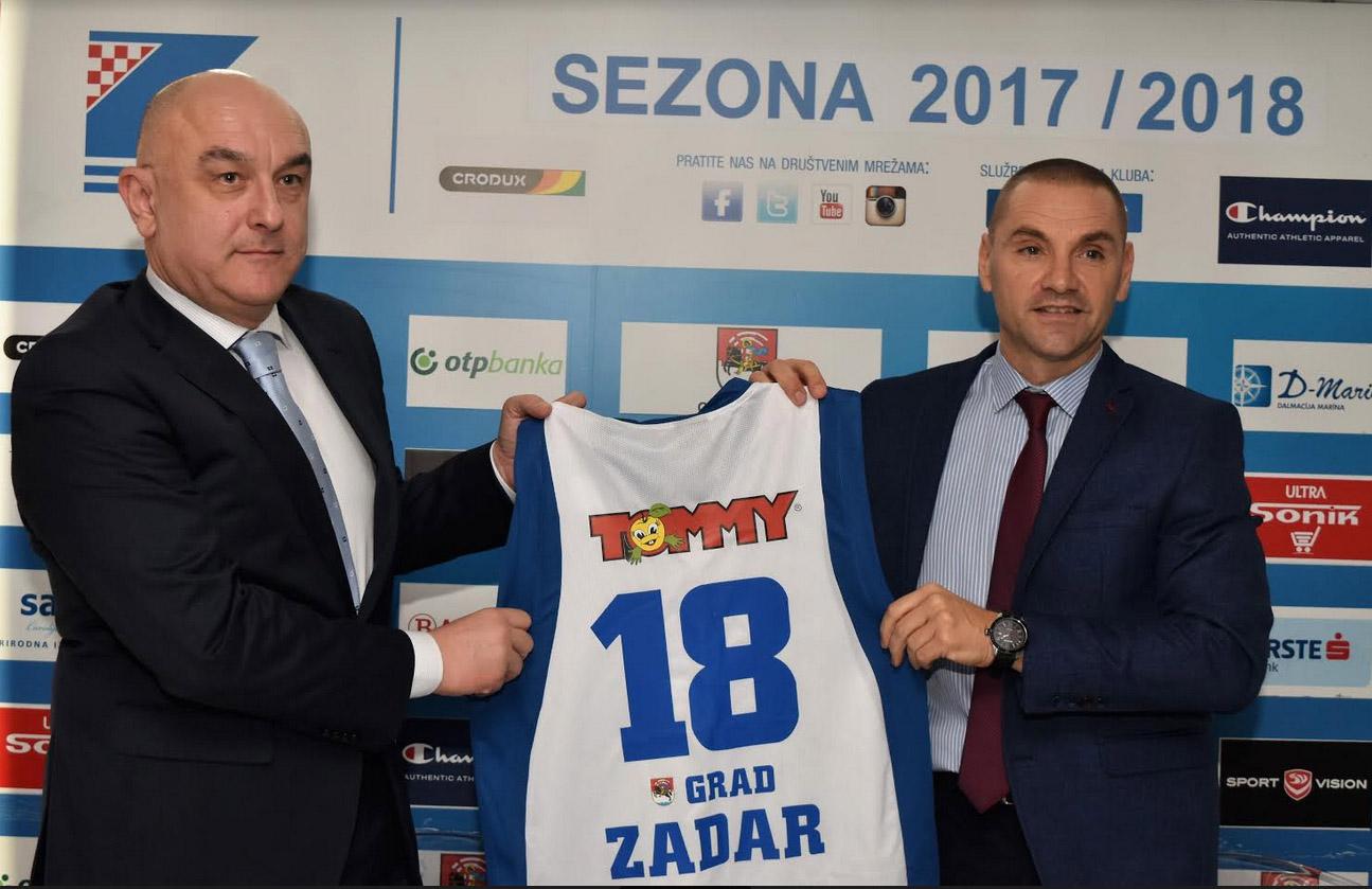 Photo of KK Zadar i Tommy potpisali sponzorski ugovor
