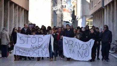 """Photo of Zadrani prosvjedovali protiv puštanja """"Daruvarca"""" na slobodu"""
