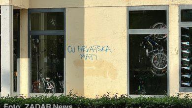 Photo of Zadarski komunalci obrisali samo dio grafita koji je pozivao na klanje Srba