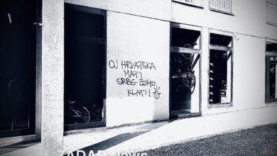 Photo of Zadarska policija: 'Izvršili smo očevid i tragamo za autorima dva grafita'