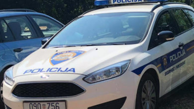 Photo of POKRENULI SMO SUSTAV – Zadarska policija traži autora prijetećeg grafita na Bilom Brigu