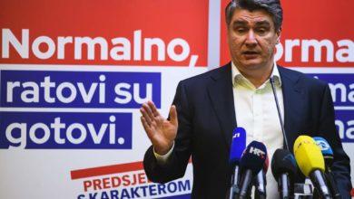 Photo of Zoran Milanović u Zadru pobijedio Kolindu Grabar Kitarović