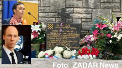 Photo of NAKON IZJAVA ZA ZADAR NEWS – Osvanuo prijeteći transparent upućen Danielu Radeti i Danijeli Vukoši