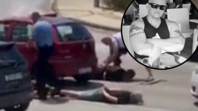 """Photo of VIDEO – Policija nasred ceste hapsila pripadnike Tornada; Boris Marin ogorčen: """"Sram me je, ovo nema veze sa Zadrom"""""""