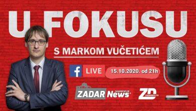 "Photo of Večeras od 21h pratite našu novu video emisiju ""U fokusu"", naš prvi gost je dr. sc. Marko Vučetić"