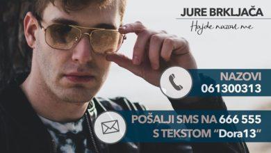 Photo of Večeras na Dori nastupa naš Jure Brkljača, podržimo ga