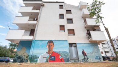 Photo of Na Petrićima osvanuo veliki mural u čast prerano preminulog Marka Novkovića